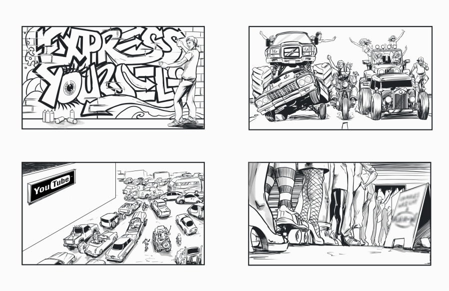 Express Self Storyboard 3a