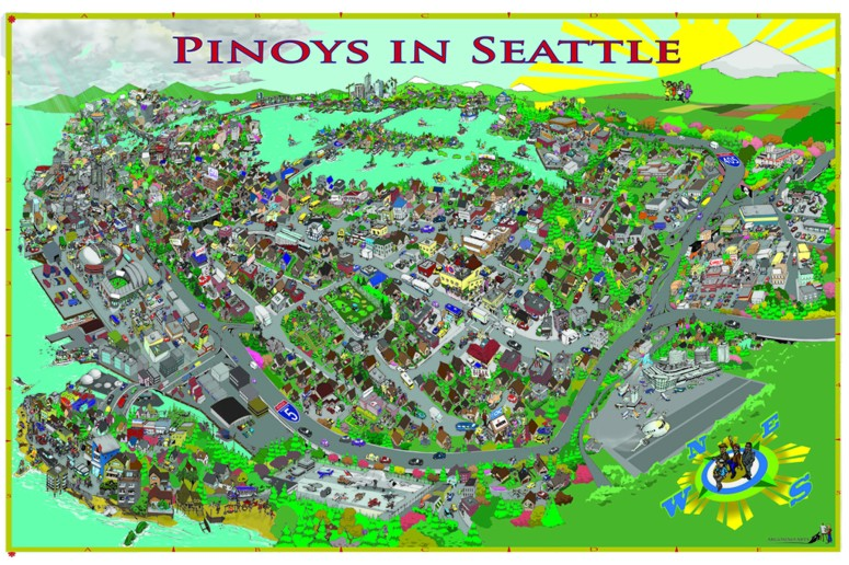 Pinoys in Seattle Map_Small